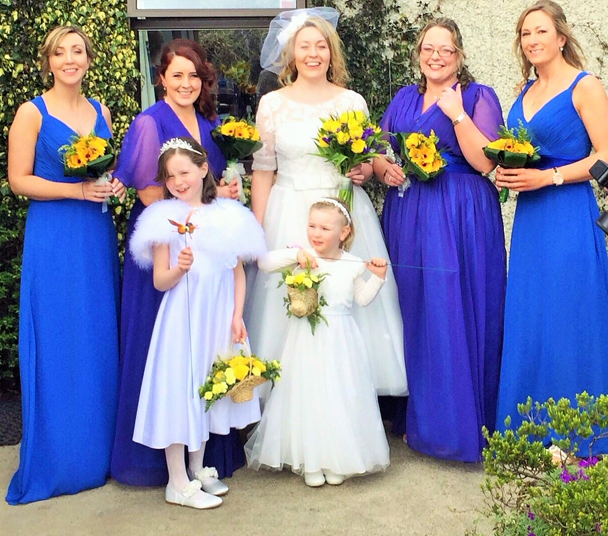 Bridal Party Colour And Style Advice